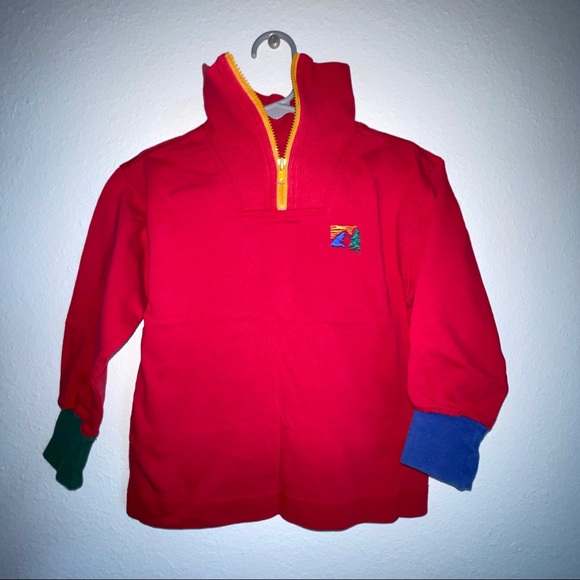 Vintage Gymboree classic half zip pullover outdoor